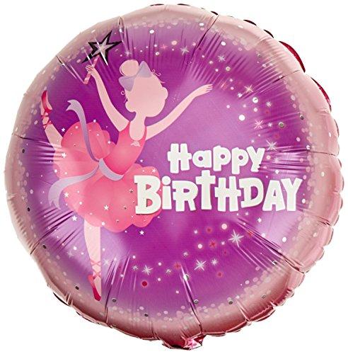 Ballerina Party Supplies - Pioneer Balloon Company Qualatex Tanzende Ballerina