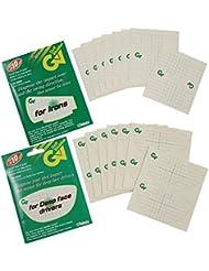 Impact Sticker–30x Impacto superficies de pegatinas para óptima Sweet Spot/Cafetería AM Raqueta de hojas
