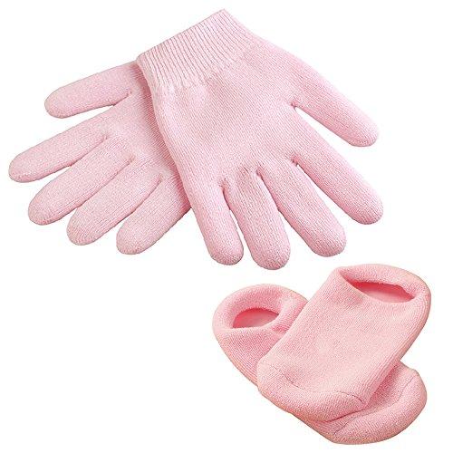 Pied Spa Traitement Hydratant Anti-Dérapant Pied Gel Chaussettes et Gants, Dry Cracked Skin Care Produit