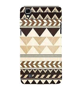 FUSON Tribal Seamless Pattern 3D Hard Polycarbonate Designer Back Case Cover for LG X Power :: LG X Power K220DS K220