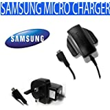 SamSung Micro ETA3U30UBE Travel Mains Charger For : Ativ S, B3310, B5310 Corby PRO, B5722, B7620 Giorgio Armani, B7722, Beam I8520, Beat DISC, Blade, Blue Earth, C3300 Libre, C3350 Solid X Cover, C3630, C5510, C6112, Chat 222, Chat 322, Chat 335 , Chat B3410W, Diva Diamond, E1050, E1080, E2100, E2330, E2370, E2600, Flutter, G810, Galaxy, Galaxy 3 I5800, Galaxy 550, Galaxy 551, Galaxy Ace 2, Galaxy Ace Duos S6802, Galaxy Ace Plus, Galaxy Ace S5830, Galaxy Apollo i5801, Galaxy Beam, Galaxy Europa I5500, Galaxy Extreme, Galaxy Fit S5670, Galaxy Gio S5660, Galaxy Lite, Galaxy M Pro, Galaxy Mini 2, Galaxy Mini S5570, Galaxy Nexus, Galaxy Note, Galaxy Note 2, Galaxy Pocket, Galaxy Portal, Galaxy Pro, Galaxy R, Galaxy S Advance, Galaxy S Duos, Galaxy S I9000, Galaxy S Plus I9001, Galaxy S2, Galaxy S2 Skyrocket, Galaxy S3, Galaxy S3 LTE, Galaxy S3 Mini, Galaxy Teos, Galaxy W, Galaxy Xcover, Galaxy Y, Galaxy Y Pro, Genio PRO, Genio Qwerty, Genio Slide, Glamour S5150, Glamour S7070, Google Nexus S, H1, i5500 Corby, i5500 Galaxy 5, i5700 Galaxy Portal , i8510 INNOV8, I8520 Halo, I9003 Galaxy SL, I9010 Galaxy S Giorgio Armani, Jet S8000, Jet Ultra Edition, Knox, Lindy M5650, Lucido, M2310, M2510, M3310, M7500 Emporio Armani, M7600 Beat DJ, Miss Player, Monte Bar C3200, Monte S5620, Naos, Omnia 7, Omnia HD, Omnia HD i8910, Omnia II I8000, Omnia Lite, Omnia M , Omnia PRO 4 B7350, Omnia Pro B7330, Omnia Pro B7610, Omnia W, Pixon12, Player 5, Player Mini, Player Star, Player Star 2, Preston, S3370, S5150 Diva Folder, S5260 Star II, S5530, S5560, S5600, S5750, S6700, S7070 Diva, S7230, S7350 Ultra Slide, S8300 Ultra Touch, Shark 3 S3550, Shark S5350, Teos, Tocco Icon, Tocco Lite 2, Tocco Quick Tap, Tocco Ultra Edition, Wave 2 Pro S5330, Wave 2 S5250, Wave 3, Wave 525, Wave 533, Wave 575, Wave 723, Wave II S8530, Wave M, Wave S8500, Wave Y