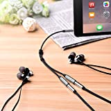 Earphone Audio Splitter Cable, Kinps 3.5mm Male to Female Splitter Cable for Phones, Headphones, Speakers, Tablets, PCs, MP3 Players and More