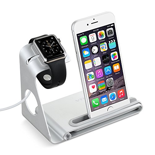 VTin-Aluminum-Alloy-Charging-Dock-Stand-Holder-Cradle-for-Apple-Watch-iPhone-iPad-or-other-Smartphone