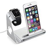 VTIN Station de Charge pour Apple Watch & Support pour iPhone 6S 6Plus 6 5S 5C 5 4S iPad mini Charge Station en Alliage d'Aluminium[Câble de Charge & iPhone & Montre & iPad mini NE SONT PAS INCLUS]