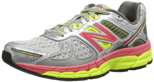 New Balance - Scarpe sportive - Running NBW860WB4, Donna Argento/Rosa