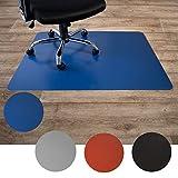 Floordirekt Bodenschutzmatte für Hartböden   aus Polypropylen  Buerostuhlunterlage  ...