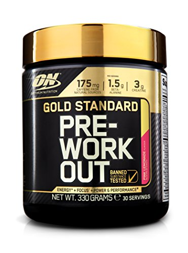 OPTIMUM NUTRITION Gold Standard Pre-Workout Limonade Fruits rouges 330g