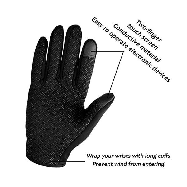 abbigliamento uomo guanti donna invernali touch screen caldi accessori uomo e donna supporto smartphone e tablet idee… 10 spesavip