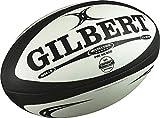 Creativeminds UK Gilbert Revolution X Blanc Noir Rugby Ballon de Match Taille 5Neuf