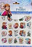 Frozen Tattoo Bogen 15 x 15 cm Kinder Einmal Hauttattoo Deko GAC C74