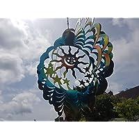 Gran mundo Co 3d viento Spinner Mesmerising colgante 3d sol viento Spinner.