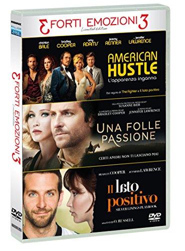 Tris Forti Emozioni American Hustle / Una Folle Passione / Il Lato Positivo