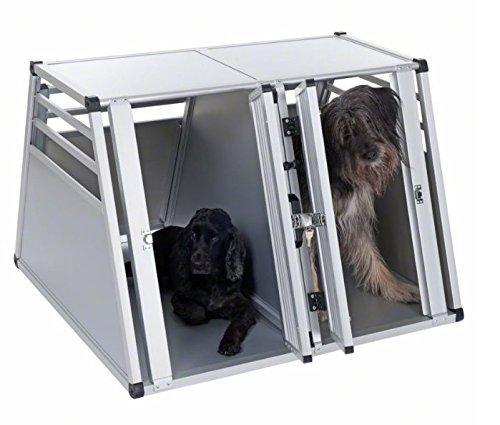 Robusto e leggero doppio, per cani grandi,-modo sicuro e comodo trasporto cani in viaggio da auto