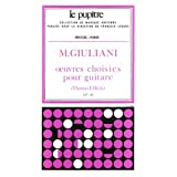 Giuliani: Oeuvres Choisies pour Guitare (Lp46)
