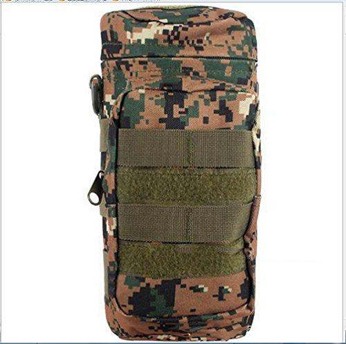 BUSL Bergsteigertasche im Freien Sport-Utility-Taschen Kessel Isolierfähigkeit Flasche Paket Ausritt e