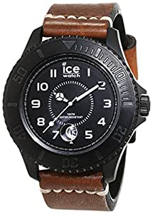 ice watch herren armbanduhr analog quarz leder he bn bm b. Black Bedroom Furniture Sets. Home Design Ideas