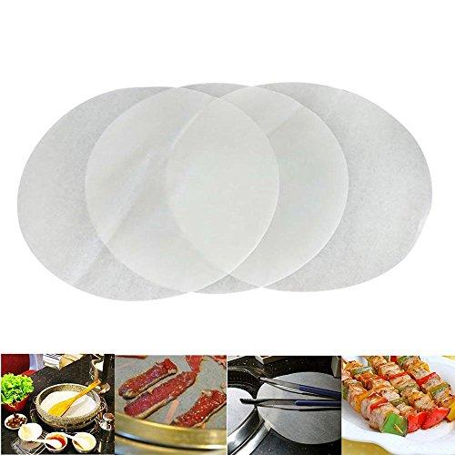 �ck Antihaft-Pergament-Papier, Backpapier rund für Kuchen Pfannen Kreis 15,2cm Durchmesser, 15,2 cm ()