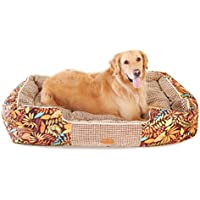 STAZSX Caseta de Perro Lavable Teddy Dog Bed Dog House Perro Summer Large Medium Small Dog