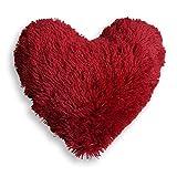 Eminza Cojín Corazón Marmota Rojo.
