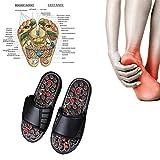 EisEyen Pantofole da Massaggio Ciabatte massaggianti Palle da Massaggio acupressurizzanti per Yoga per Uomo e Donna agopunti