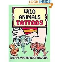 Wild Animals Tattoos (Dover Tattoos)