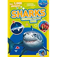 Sharks Sticker Activity Book: Over 1,000 stickers! (NG Sticker Activity Books)