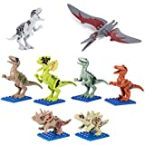 Dinosaur Toys, Construction Engineering Building Play Set Dinosaur Building Blocks For Boys And Girls Toddlers, Take Apart Toys Dinosaurs For Kids(8 Pack)