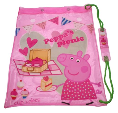 Imagen principal de Trade Mark Collections - Bolsa de picnic, diseño de Peppa Pig, color rosa