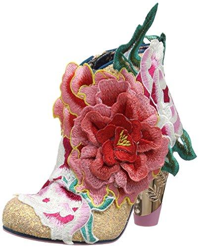 Irregular Choice Damen Rows Garden Pferdeschuhe Pink (Pink Metallic)