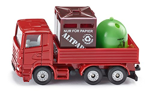 Siku 0828  - Reciclaje de transporte (colores surtidos)