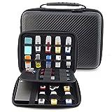 Homeself Étui Coque rigide pour accessoires électroniques Organiseur de voyage imperméable pour Power Bank/USB/Disque Dur