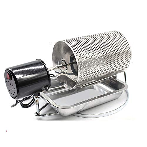 DGDD Edelstahl-Kaffeebohne-Röstmaschine-Kaffeeröster-Rollen-Bäcker