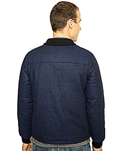 Native Youth - Veste zippé - Bomber - Homme blue