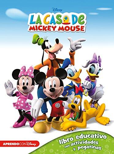 La Casa De Mickey Mouse 2. Libro Educativo Con Actividades Y Pegatinas
