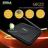 Televisión Inteligente Best Deals - Reproductor de medios Rikomagic MK22 S912 Android 6.0 caja de tv 2G DDR3 RAM 16G eMMC ROM Amlogic S912 caja inteligente de la TV octa-núcleo ARM Cortex A53 procesador hasta 2,0 GHz Gigabit Ethernet KODI 2.4G / 5G banda dual WiFi 802.11 b / g / n Bluetooth