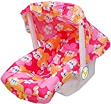 #3: HOUZIE Multipurpose Baby Carry Cot with 12 in 1 ability - RED
