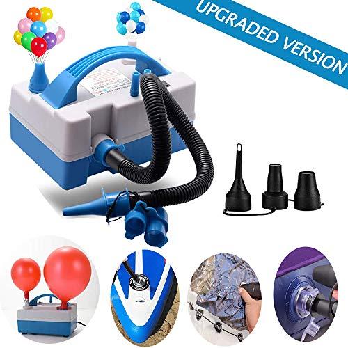 TECHSHARE Luftballonpumpe Elektrische Ballonpumpe, Elektrische Luftpumpe, Ballpumpe Elektrisch für Ballons, Schwimmring, Aufblasbares Kissen, Aufblasbares Spielzeug
