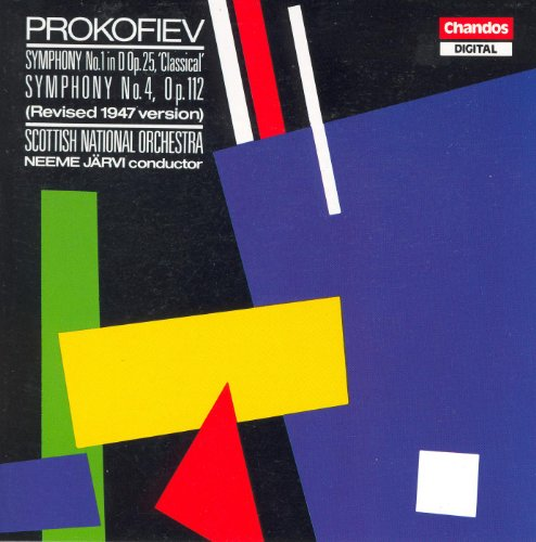 Prokofiev: Symphonies Nos. 1 and 4 (2Nd Version, 1947) (Symphony Prokofiev 2)