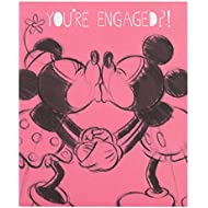 Hallmark Disney Minnie Engagement Card Love Happens - Small
