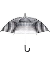 La chaise longue paraguas campana negro y transparente para las mujeres – Imprimã ...