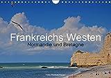 Frankreichs Westen - Normandie und Bretagne (Wandkalender 2019 DIN A4 quer): Highlights und Geheimtipps in der Normandie und der Bretagne (Monatskalender, 14 Seiten ) (CALVENDO Natur)
