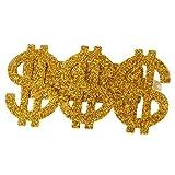Gazechimp Set 3 Ringe mit Dollar-Zeichen