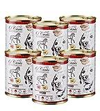 O'Canis Hundefutter getreidefrei glutenfrei Nassfutter für Hunde 6 DOSEN à 820g (Pferd + Kartoffeln, 820g)