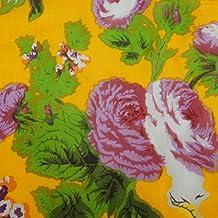 floral tela de gasa estampada pura confección artesanal de costura de la tela por metros