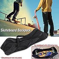Starter Negro Black Skateboard Carry Bag -Mochila plegable -Bolsa de skateboard