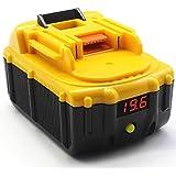 Waitley 18V 5.0Ah/5000mAh Reemplazo Batería de litio de para Makita BL1830 BL1830USB BL1840 BL1850 BL1860 194205-3 LXT-400 con la exhibición del voltaje Añada la función del banco de la energía