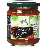 Jardin Bio Poivrons Rouges Grillés 190 g -