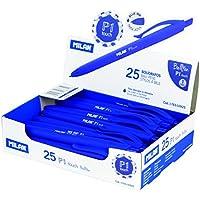 Milan 176510925 - Bolígrafo de punta redonda,  25 unidades
