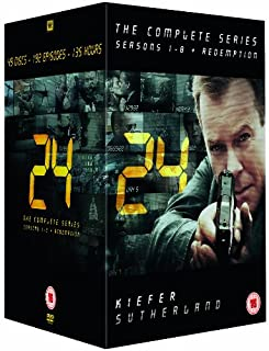 24 - Complete Season 1-8 + Redemption (New Packaging) [DVD] (B005MX5MQW) | Amazon price tracker / tracking, Amazon price history charts, Amazon price watches, Amazon price drop alerts