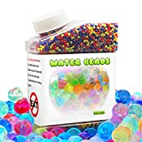 Meland Water Beads, 42,000 Colourful Reusable Orbeez Balls for Foot Spa Refill, Children Sensory Play Toys & Plant Wedding Decoration
